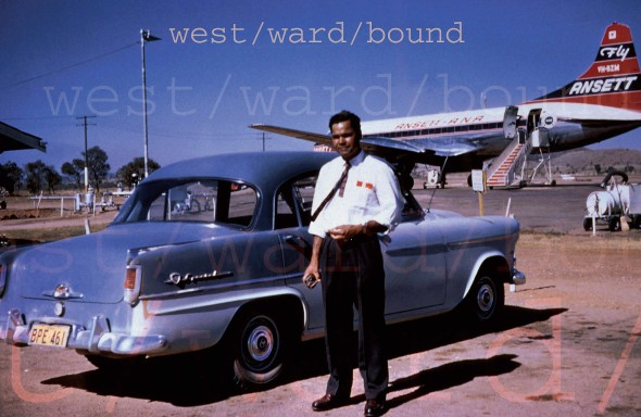 west/ward/bound (1959-1999-2009), Brenda L. Croft, Vinyl banners, aluminum sail tracking
