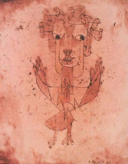 Angelus Novus (1920), Paul Klee