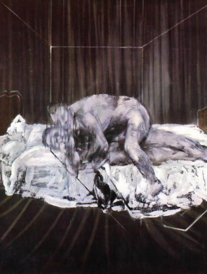 Two Figures (1963), Francis Bacon